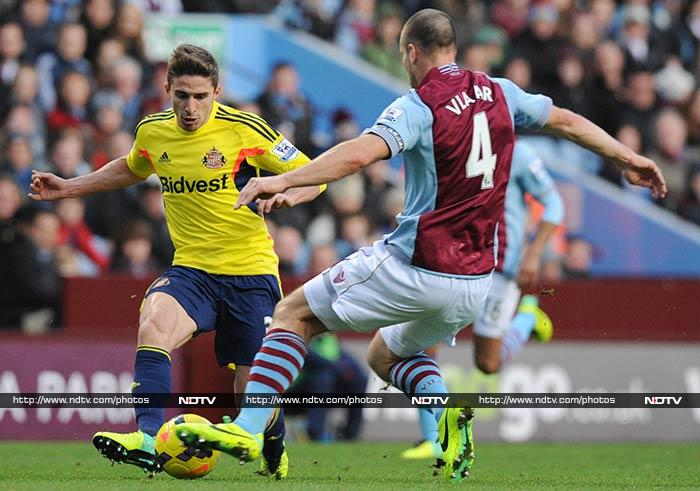 EPL: Ramsey brace sends Arsenal seven clear, West Ham hammer Fulham