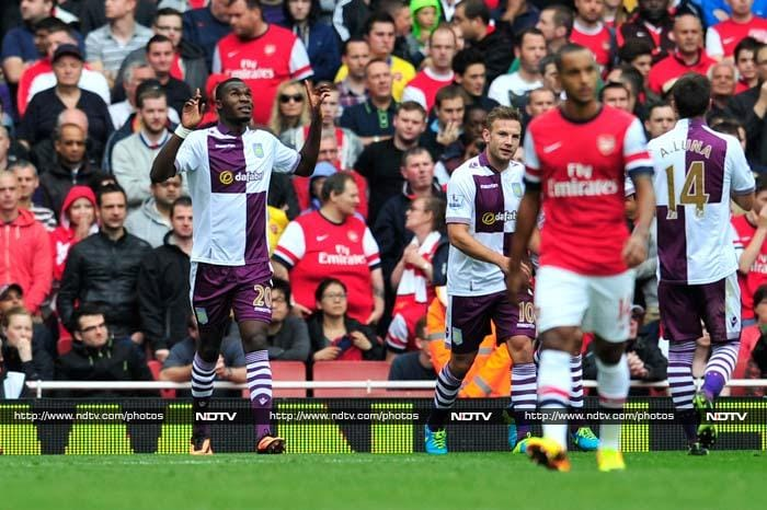Arsenal stunned by Villa as Premier League resumes