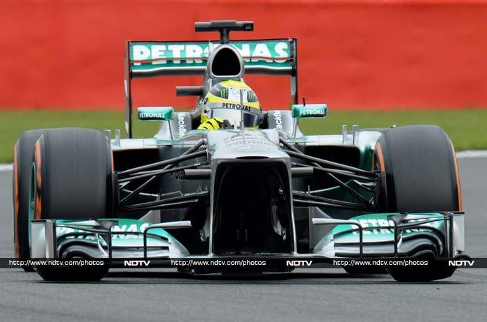 Belgian GP: Hamilton takes pole position