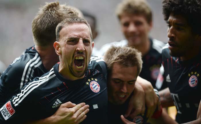 Bayern Munich win Bundersliga