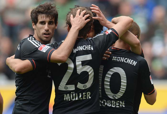 Bayern Munich win Bundersliga