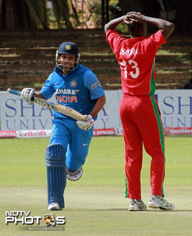 4th ODI: India thrash Zimbabwe by 9 wickets