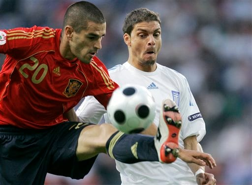 Spain vs Greece