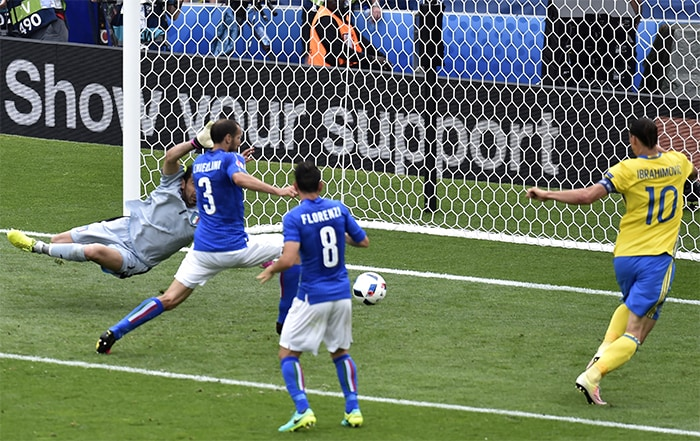 Euro 2016: Eders Late Strike Helps Italy Defeat Sweden 1-0