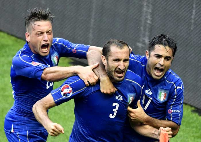 Euro 2016: Italy Knock Spain Out, Will Face Germany in Quarter-Finals