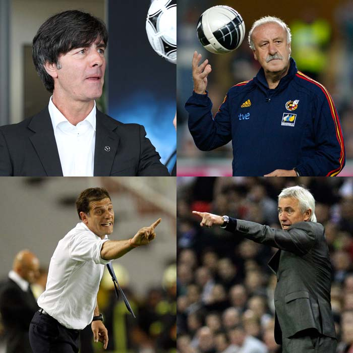 Euro 2012: The Team Managers