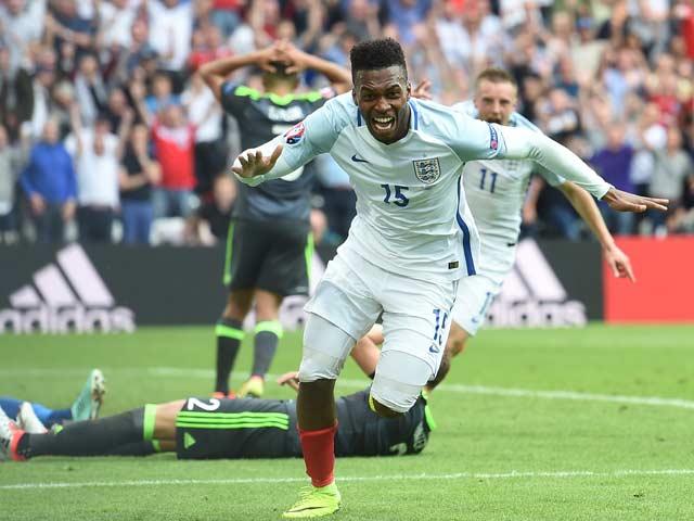 Euro 2016: Daniel Sturridges Strike Takes England to Win Over Wales