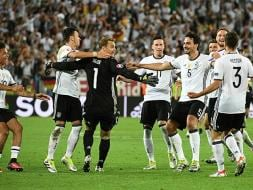 Photo : Euro 2016: Germany Edge Past Italy in Thrilling Penalty Shootout to Enter Semis
