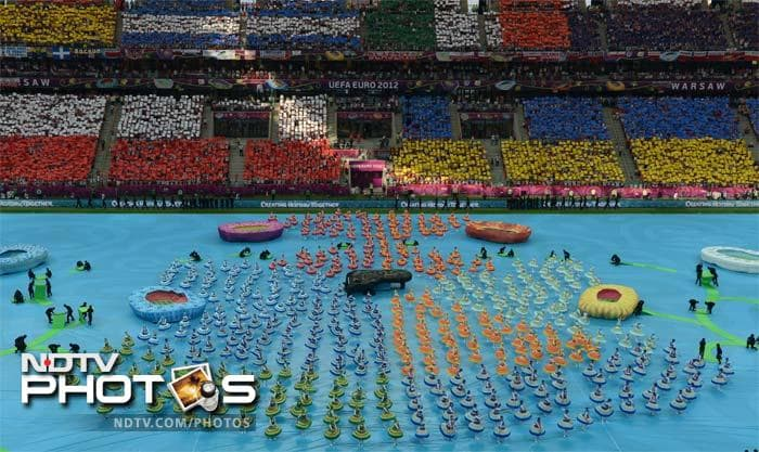 Euro 2012 gets underway with opening ceremony