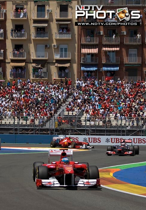 Vettel claims 6th win of season at European GP