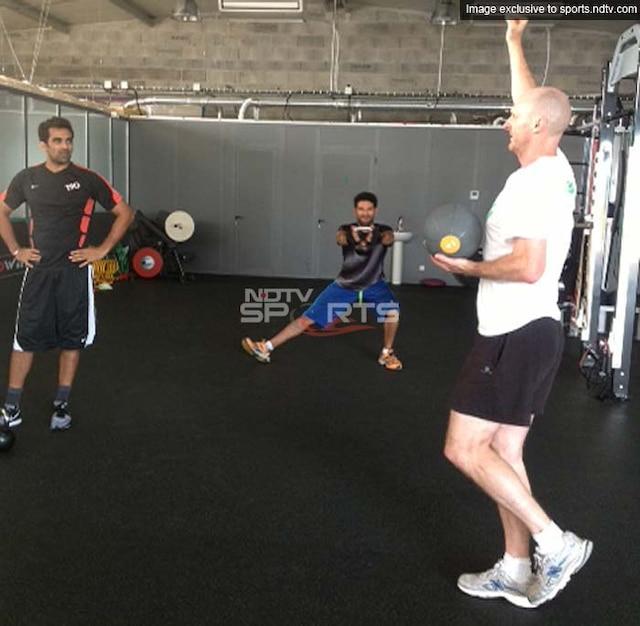 Exclusive: Yuvraj Singh, Zaheer Khan train hard in France!