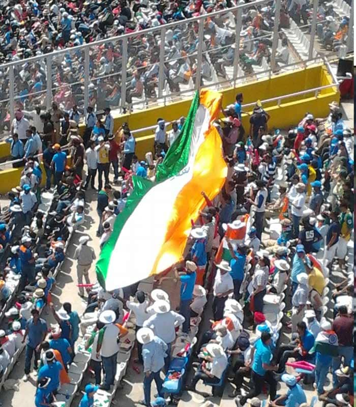 EXCLUSIVE: Pics from inside Mohali stadium