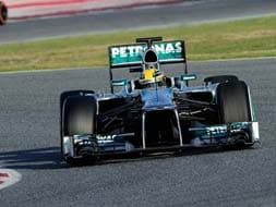 Photo : Formula One 2013: Teams put their machines to the test