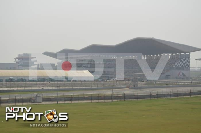 Welcome to the Indian GP track