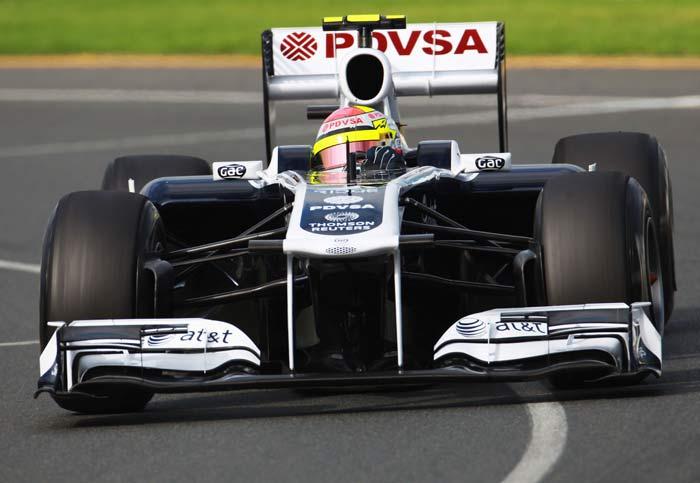 Australian Grand Prix starting line-up