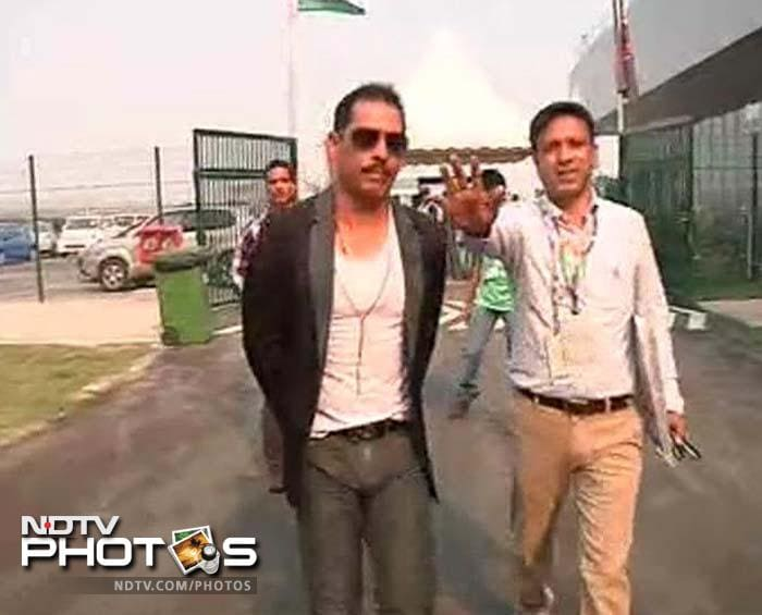 Well known faces at the Indian Formula One