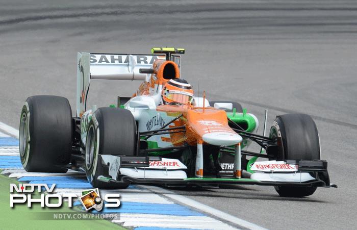 Fernando Alonso wins the German Grand Prix