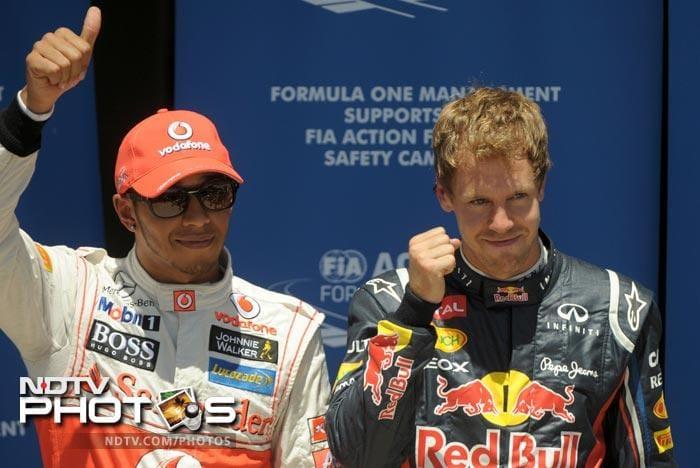 European Grand Prix: Vettel takes pole position in Qualifying