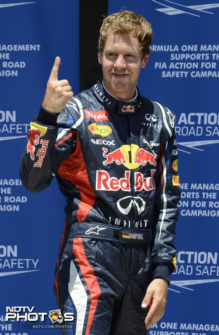 European Grand Prix: Vettel takes pole position in Qualifying