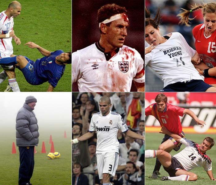 Famously infamous soccer stars