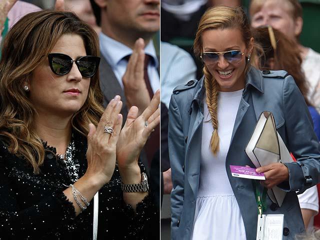 Photo : Djokovic vs Federer: Family and Fans Emerge Winners in Wimbledon