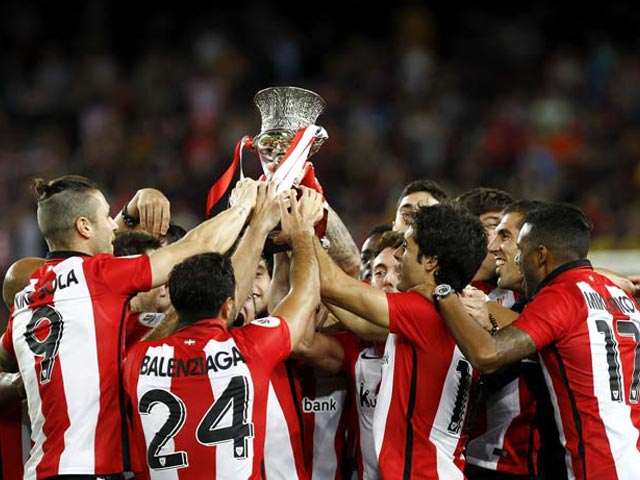 Photo : Athletic Bilbao Lift Spanish Super Cup to End 31-Year Title Drought