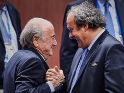 Photo : Sepp Blatter Basks in the Glory of Retaining FIFA Top Job