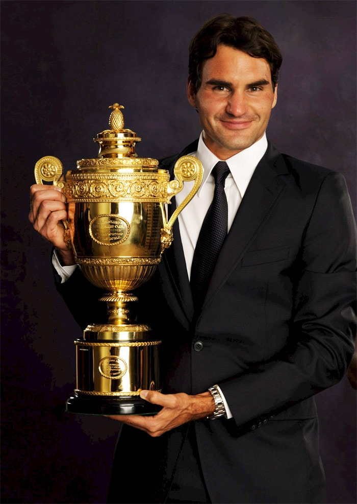 Roger Federer's life in pics