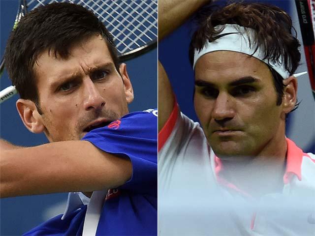 Photo : It's Novak Djokovic vs Roger Federer for US Open Title!