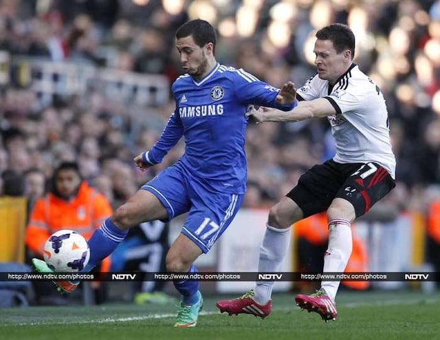 Chelsea go past Fulham, Stoke City sink Arsenal