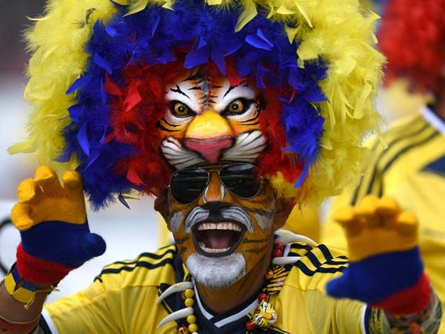 Photo : FIFA World Cup: Fans And Their Passionate Artwork