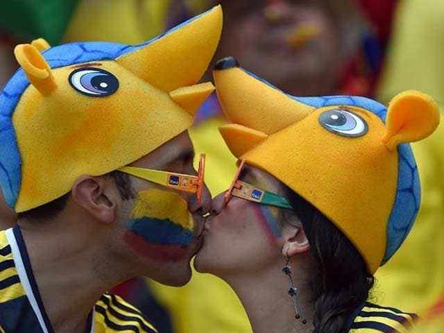 Photo : FIFA World Cup: When Football Becomes Cupid!