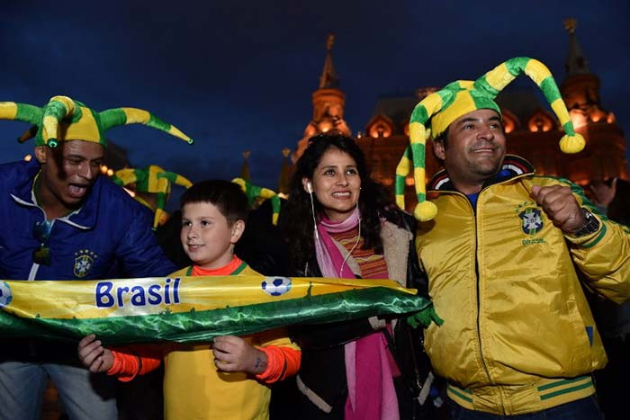 FIFA World Cup 2018: Fans Add Colour And Cheer As Teams Gear Up For Tournament