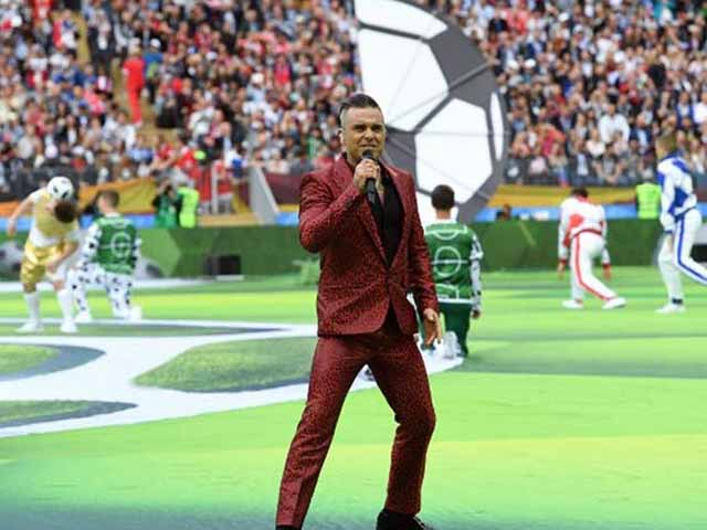 FIFA World Cup 2018: Robbie Williams Rocks Opening Ceremony