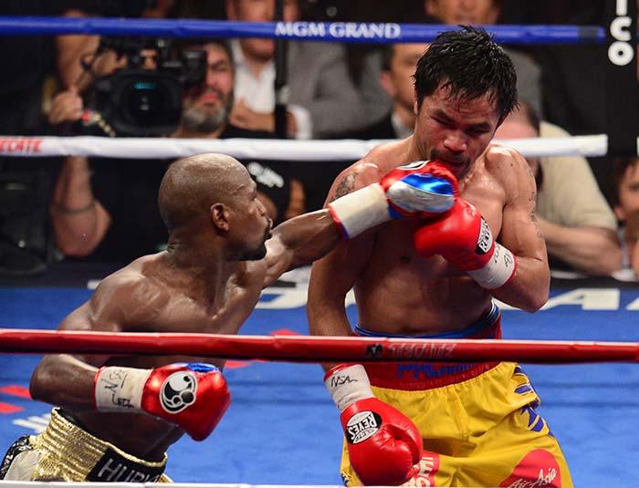 Mayweather Beats Pacquiao to Win