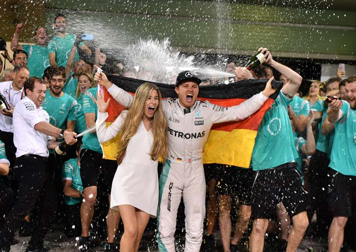 Nico Rosberg Crowned 2016 Formula 1 World Champion