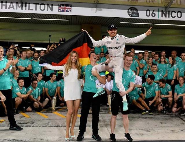 Nico Rosberg Crowned 2016 Formula 1 World Champion
