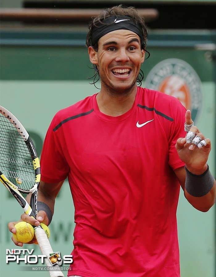 Rafael Nadal still the king of French Open