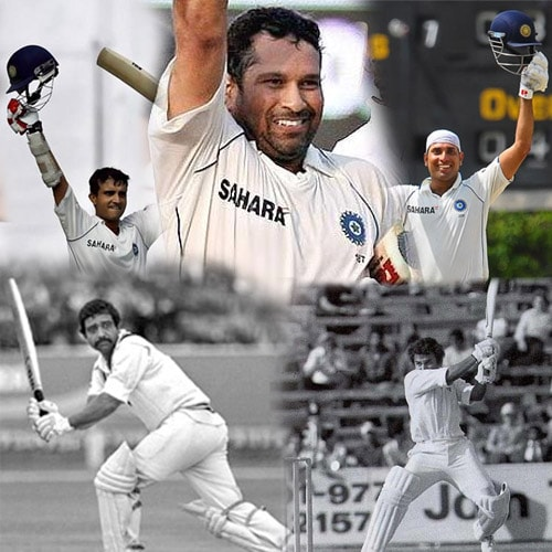 India's 4th innings heroes