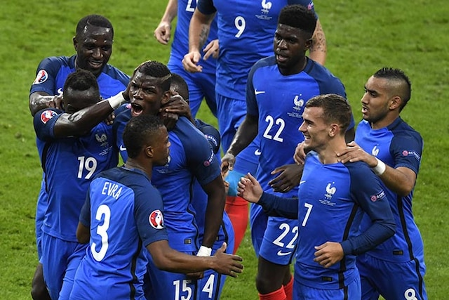Euro 2016: France Rout Iceland, to Face Germany in Semi-Finals