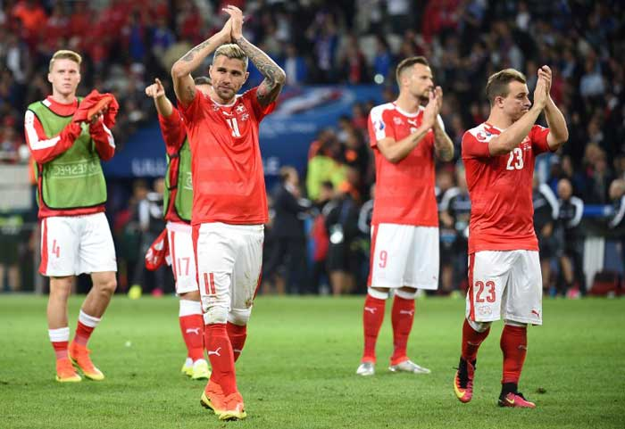 Euro 2016: Switzerland Hold France, Albania Register Historic Win Over Romania