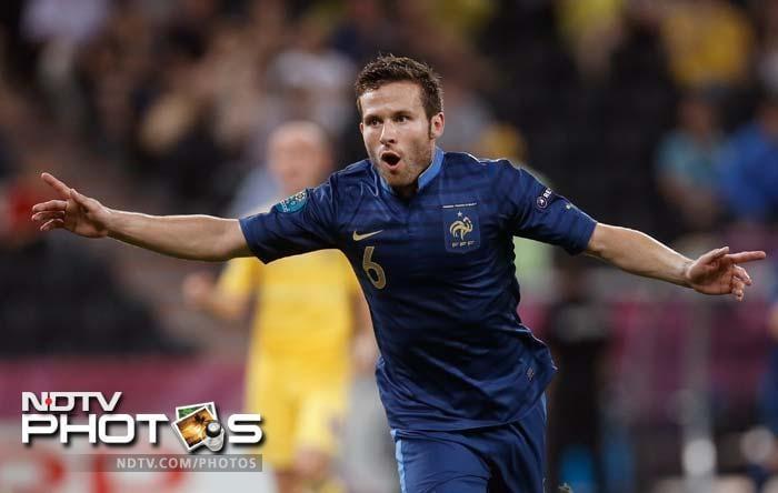 Euro 2012: France ease past Ukraine 2-0