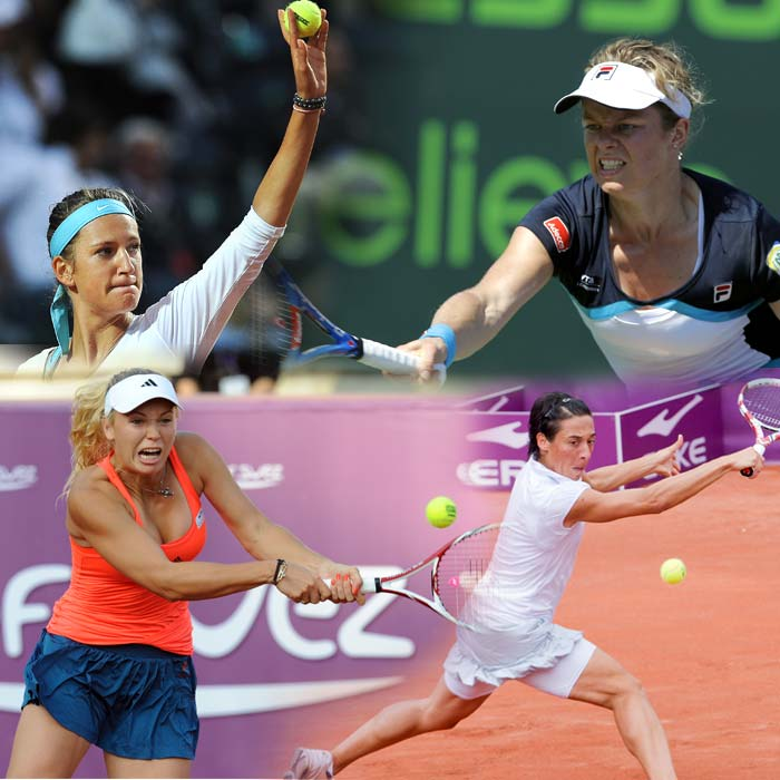 French Open title contenders (women)