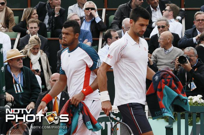 French Open 2012, Day 10