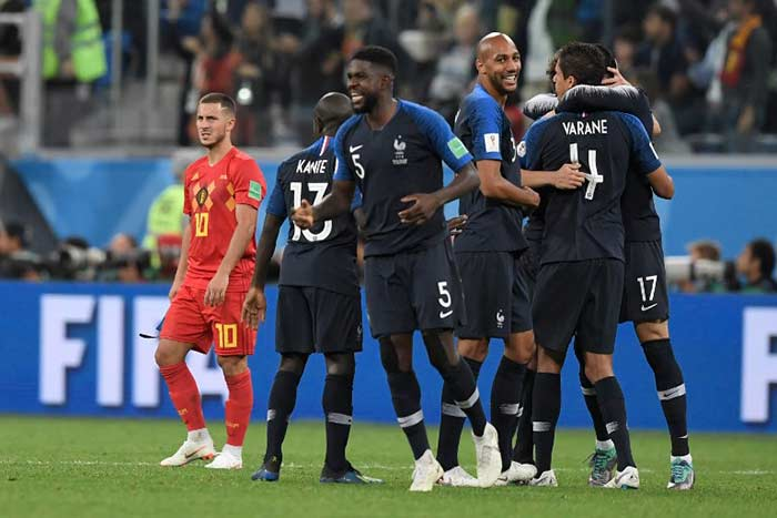 Samuel Umtiti Scores As France Edge Belgium To Reach World Cup Final
