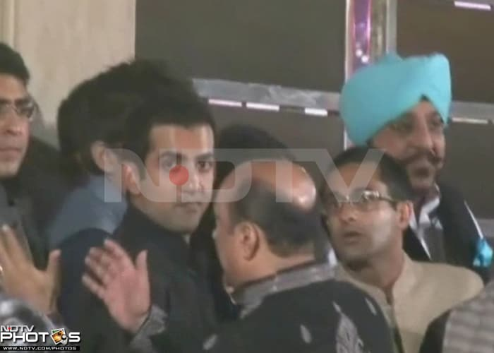 Gautam Gambhir ties the knot