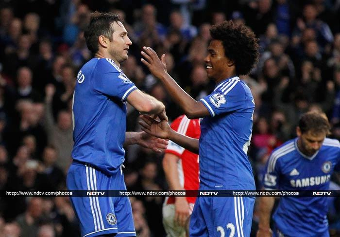 EPL: Chelsea go to top of table, Manchester United rise to sixth