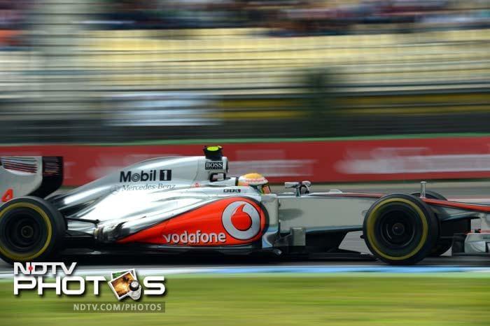 German Grand Prix: Qualifying session
