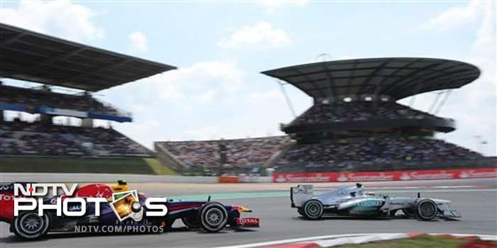 German Grand Prix: Lewis Hamilton on pole, Force India qualify outside top 10