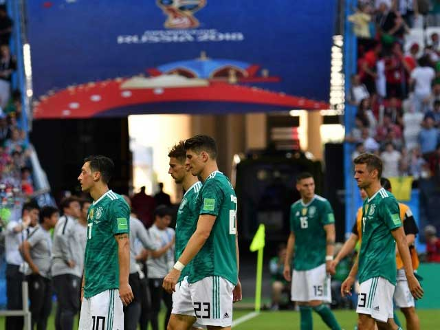 World Cup 2018: Defending Champions Germany Knocked Out